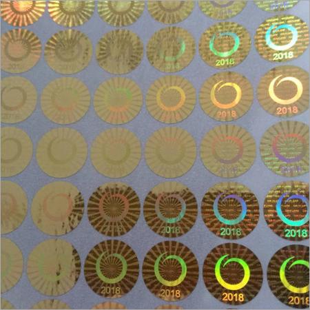 Hologram Sticker Sheet