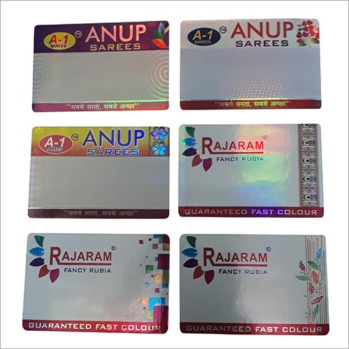 Laminated Garment Sticker