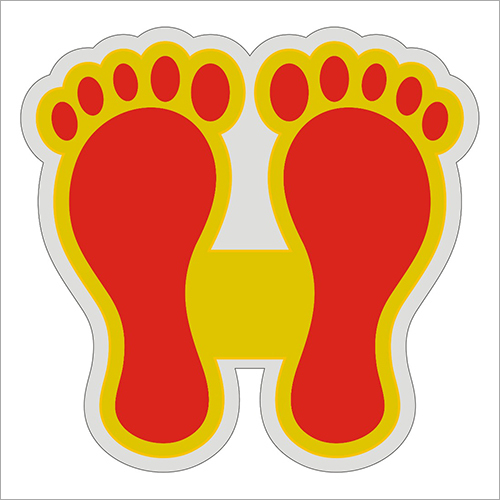 Laxmi Feet Sticker