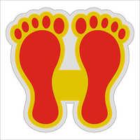 Laxmi Feet Sticker