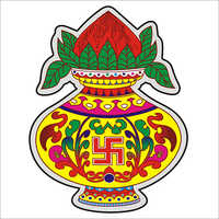 Kalash Paper Sticker