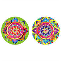 Diwali Rangoli Sticker