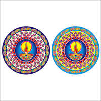 Colorful Rangoli Sticker