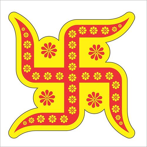 Swastik Paper Sticker