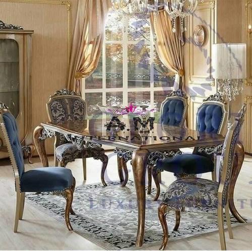 designer 5 seater dining table set