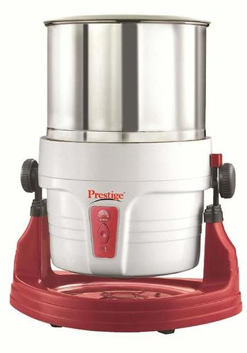Prestige Wet Grinder PWG 01 (200 watts) with Tilting Drum, Cocunut Scraper and Atta Kneader Attachment