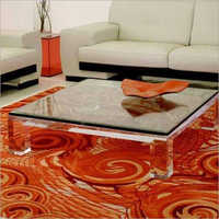 Transparent Acrylic Center Table
