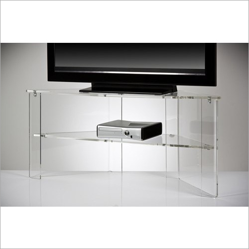 Transparent Acrylic TV Unit