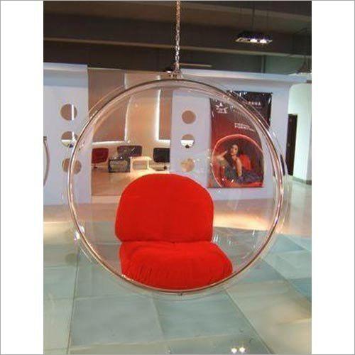 Indoor Clear Acrylic Swing