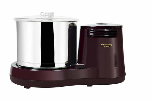 Butterfly Hippo 2.0 L Table Top Wet Grinder, Cherry
