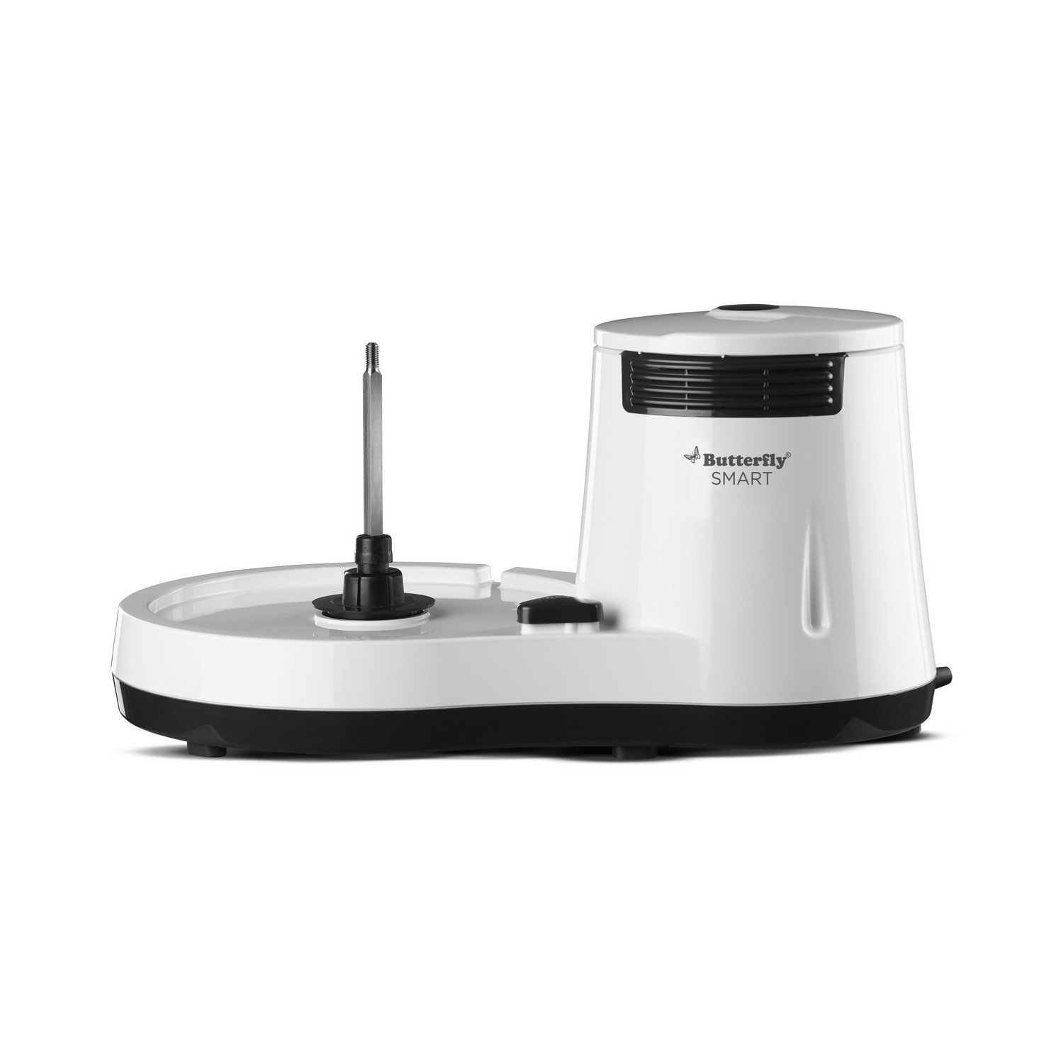 Butterfly Smart 150-Watt Table Top Wet Grinder with Coconut Scrapper Attachment (White)