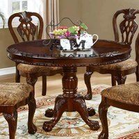 4 seater round dining table set