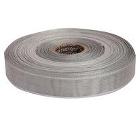 25mm - Silver Stripes