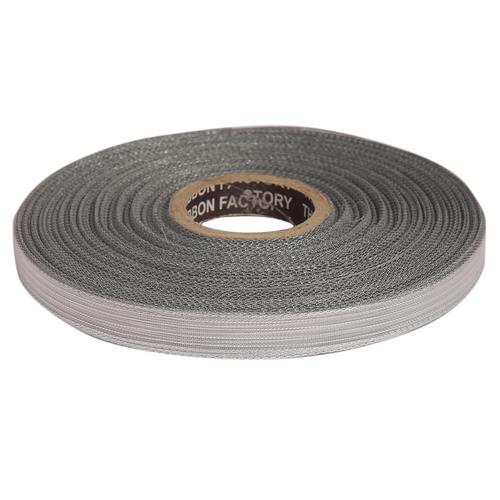 12mm - Silver Stripe edge