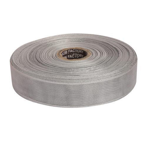 25mm - Silver Edge