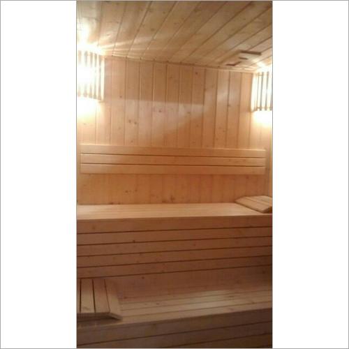 Pine Wood Sauna Room