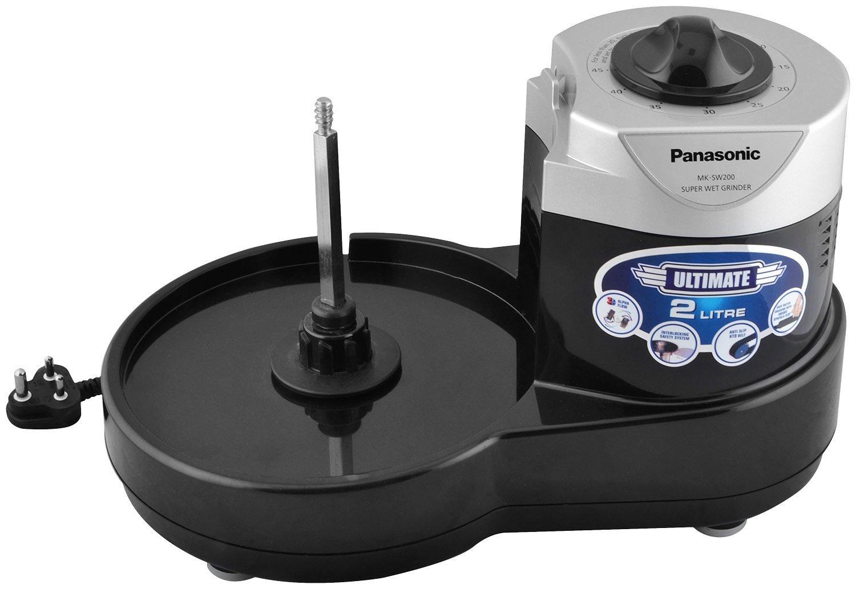 Panasonic MK-SW200BLK Wet Grinder (Black)