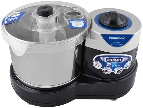 Panasonic MK-GW200 Super Wet Grinder (Black)