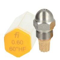 Fluidic Burner Nozzle 60 Degree HF
