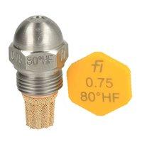 Fluidics Burner Nozzle 80 Degree HF