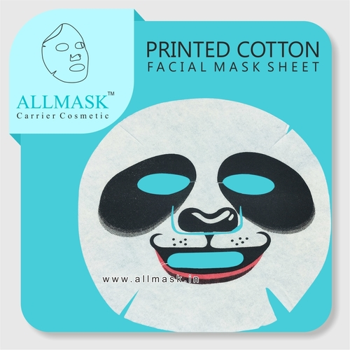 Cotton Panda Printed Facial Mask Sheet - 100% Original - ODM/OEM Customization Available