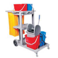 Multi Function Janitor Cart