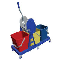 Industrial Wringer Trolley