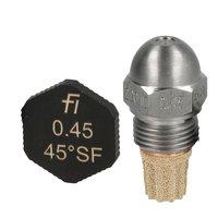 Fluidics Burner Nozzle 45 Degree SF