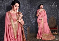 Murphy Silk Handwork Embroidery Butta Work Saree