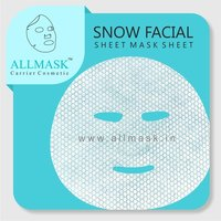 Snow Facial Mask Sheet - 100% Original - ODM/OEM Customization Available