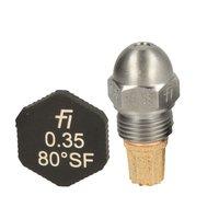 Fluidics Burner Nozzle 80 Degree SF