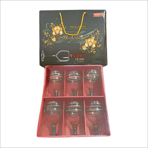 6 Pcs Wine Glass Set
