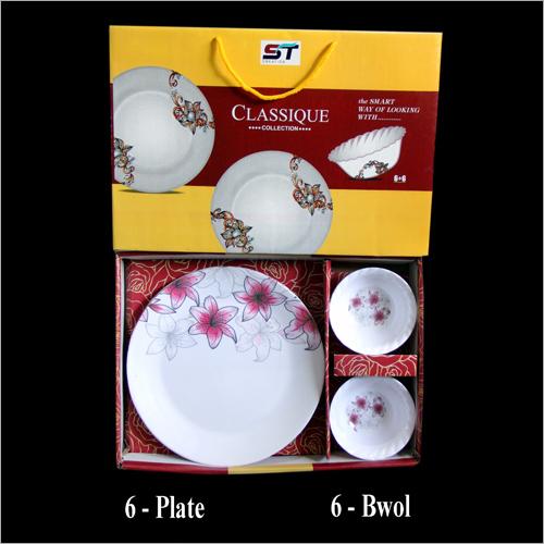 Melamine Plate And Bowl Set