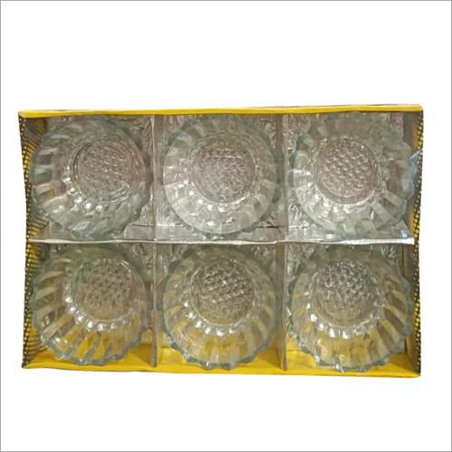 6 Pcs Glass Bowl Set
