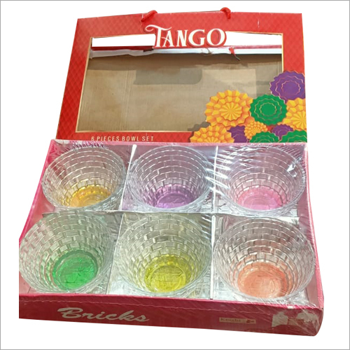 6 Pcs Glass Bowl Set