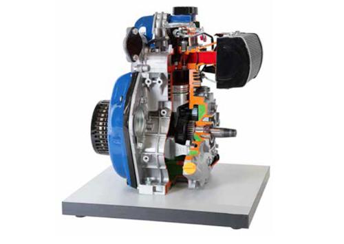 Single Cylinder Diesel Engine Model Labcare
