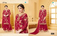 YOUR CHOICE  BRAND HEAVY PLAZZO SALWAR SUITS