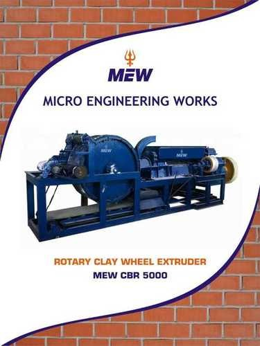 Rotary Type Clay Brick Making Machine