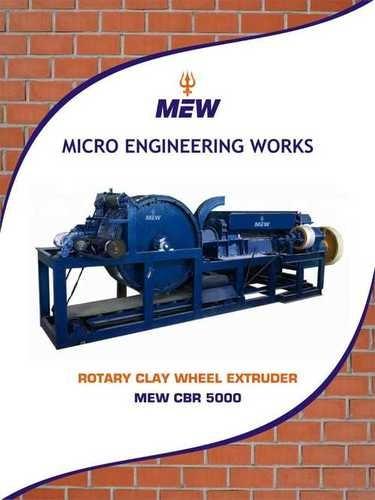 Rotary Type Clay Brick Making Machine