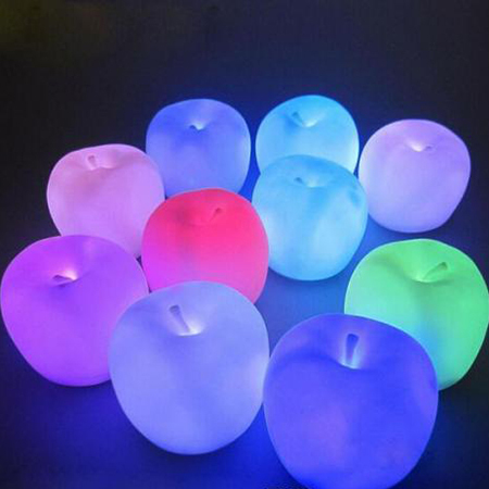 LED Apple Candle