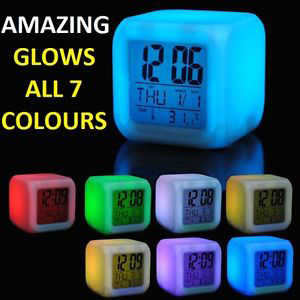 Colour Changing Clock