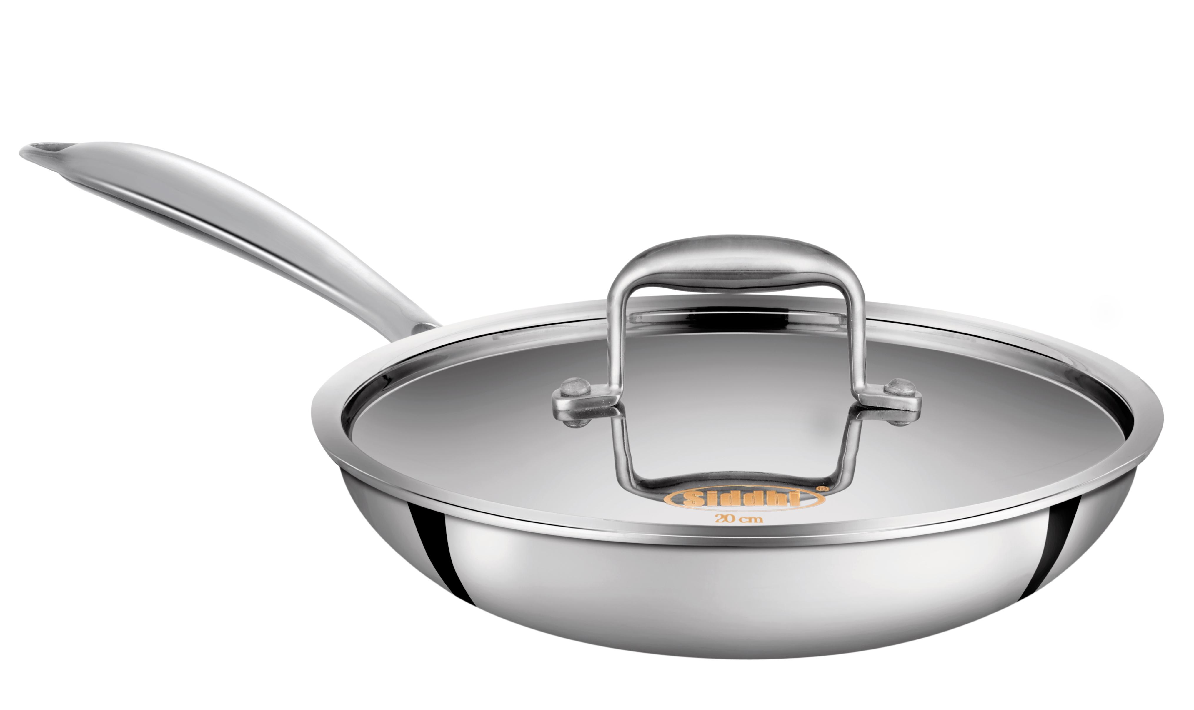 Tri-ply Fry Pan