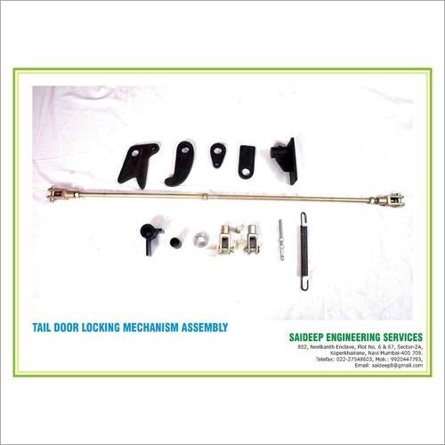 Tipper  Tail Door Rear Locking System -  Vertical Hook