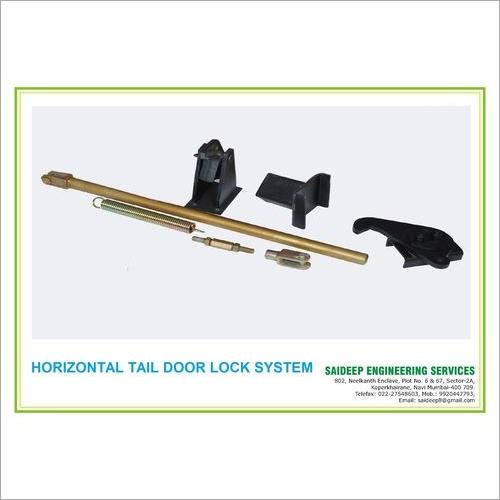 Tipper Tail Door Locking System - Horizntal Hook