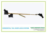 Tipper Tail Door Locking System - Horizontzl Hook