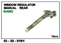 Window Regulator Manual Rear Nano Lh/Rh