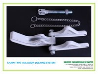 Tipper Tail Door Locking System - Chain Type