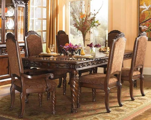 handcrafted 6 seater dining table