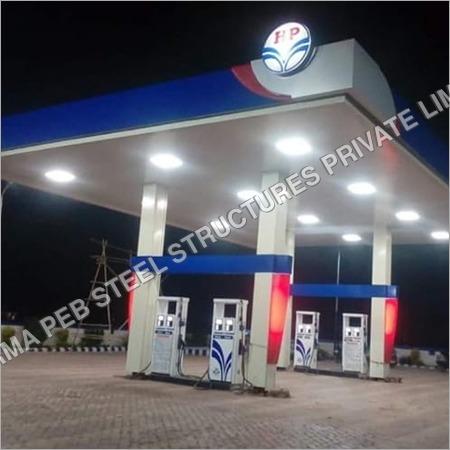 Petrol Pump Canopy Fascia