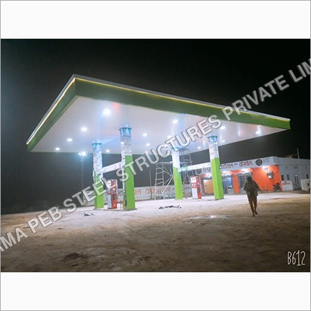 CNG Gas Pump Canopy